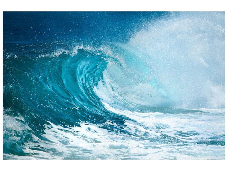 Klebeposter Die perfekte Welle