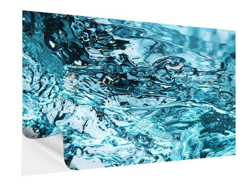 Klebeposter Schönheit Wasser