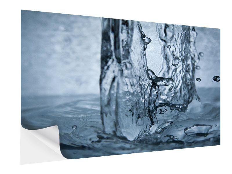 Klebeposter Wasserdynamik