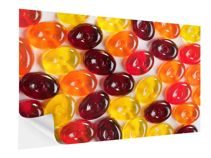 Klebeposter Bonbons