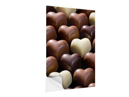 Klebeposter Süsse Herzen