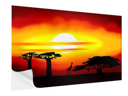 Klebeposter Faszination Afrika
