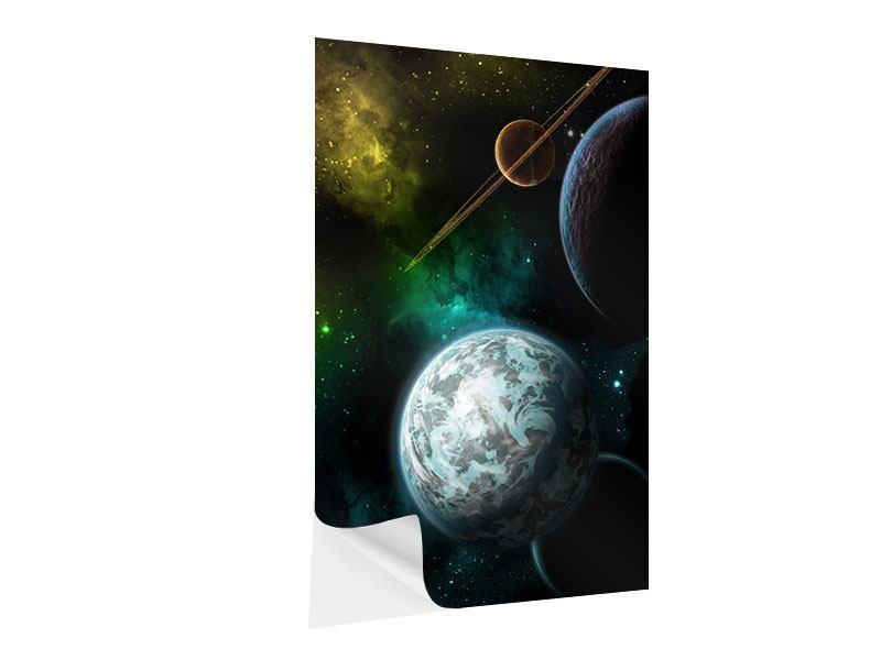 Klebeposter Der Weltraum