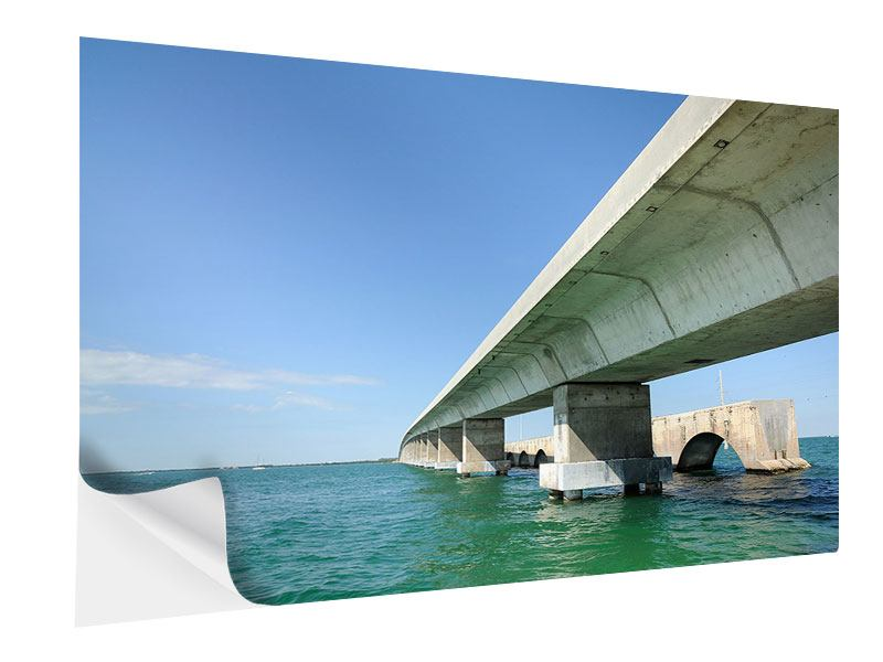 Klebeposter Seven Mile Bridge