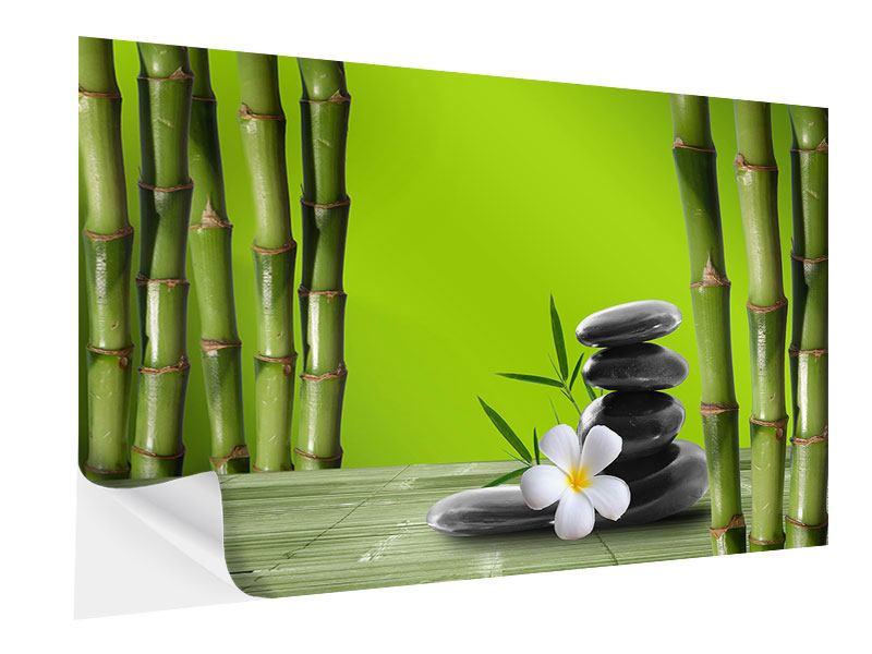 Klebeposter Der Bambus