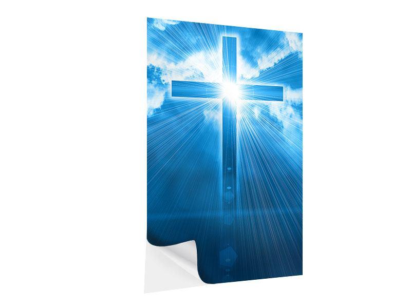 Klebeposter Das Kreuz