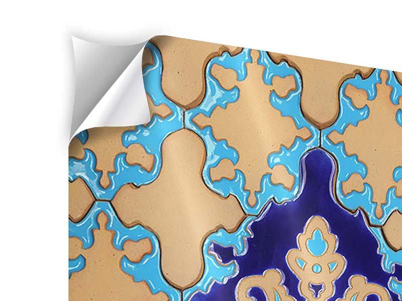 Klebeposter Orientalisches Mosaik