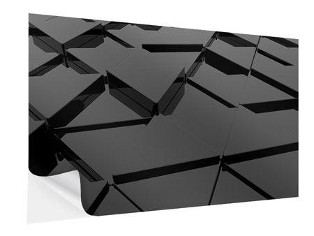 Klebeposter 3D-Dreiecksflächen