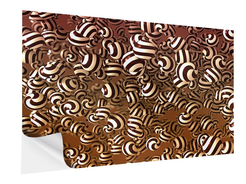 Klebeposter Schokoladen-Bonbons