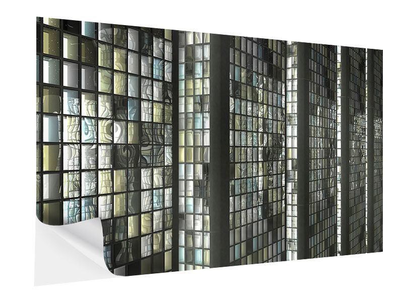 Klebeposter Windows