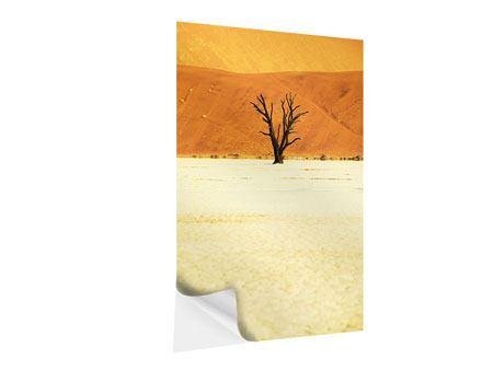 Klebeposter Der Wüstenbaum