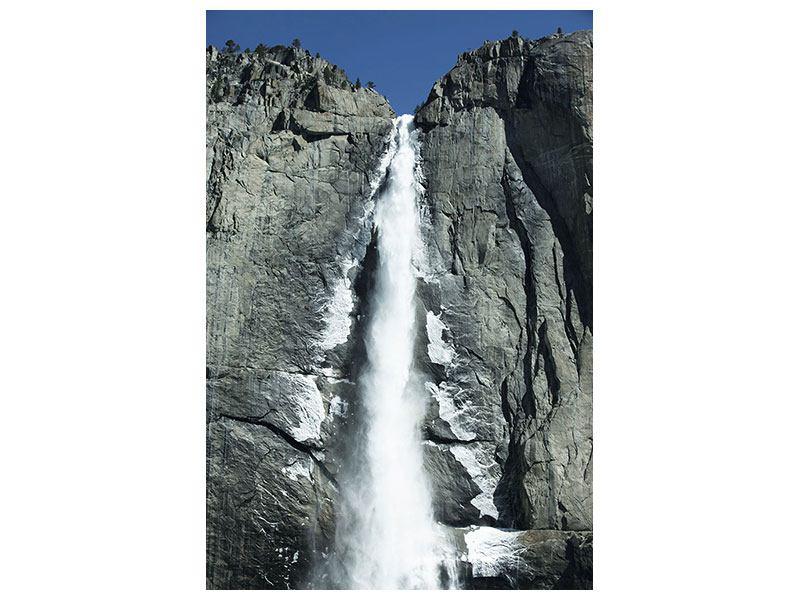 Klebeposter Wasserfall Yosemite