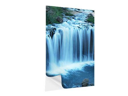 Klebeposter Am Wasserfall