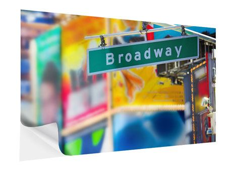 Klebeposter Broadway