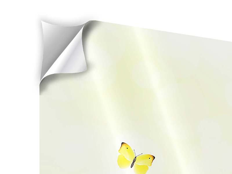Klebeposter Lustige Schmetterlinge