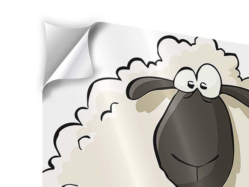 Klebeposter The Sheep