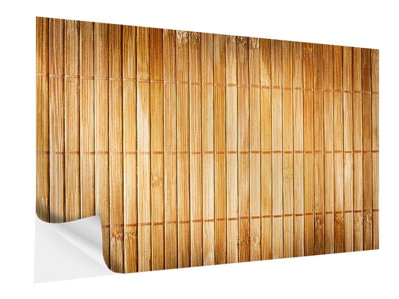 Klebeposter Bambusrohre