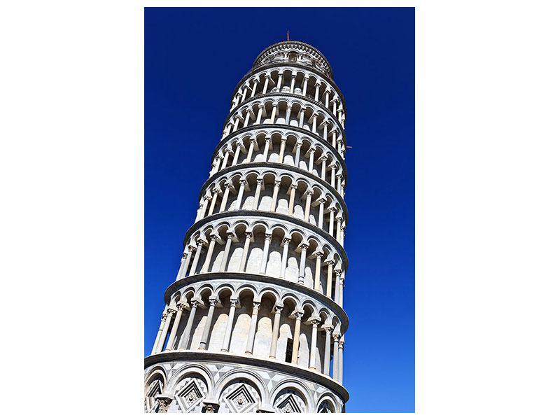 Klebeposter Der schiefe Turm von Pisa