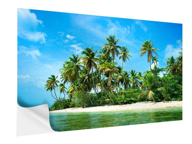 Klebeposter Reif für die Ferieninsel