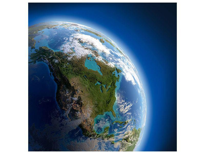 Klebeposter Die Erde