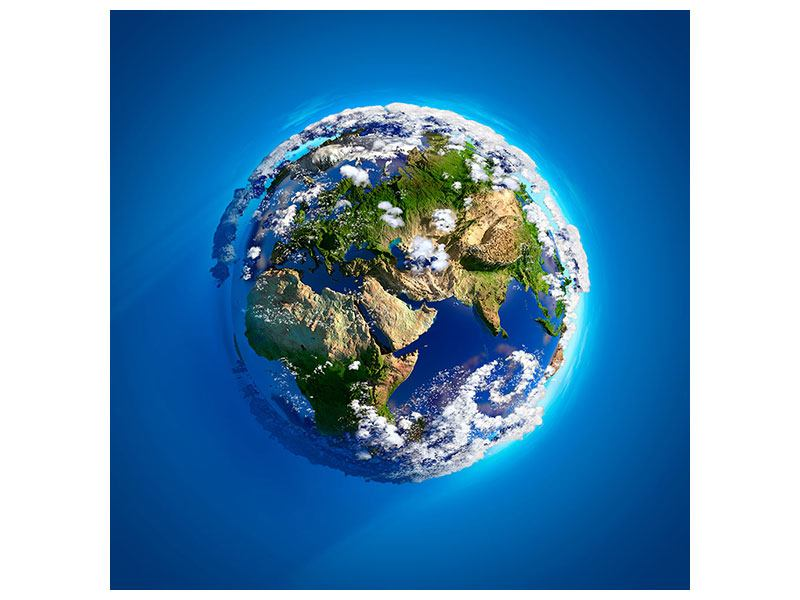 Klebeposter Planet Earth