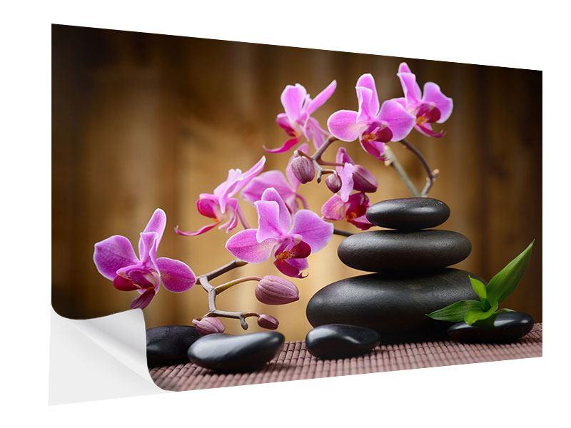 Klebeposter Wellness-Steine