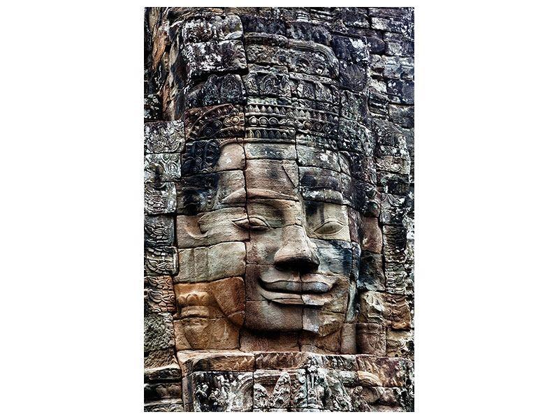 Klebeposter Buddha Angkor Thom
