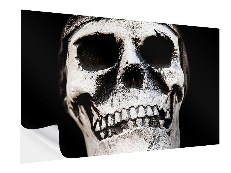 Klebeposter Skull