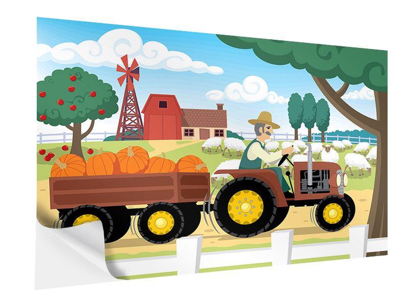 Klebeposter Bauernhof