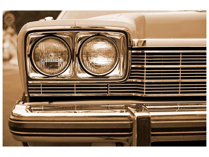 Klebeposter Oldtimer Close up