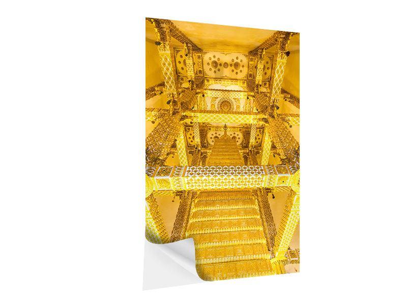 Klebeposter 3D Raumpalast