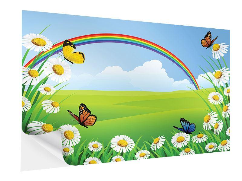 Klebeposter Der bunte Regenbogen
