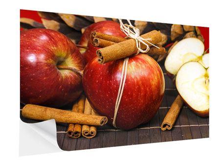 Klebeposter Äpfel