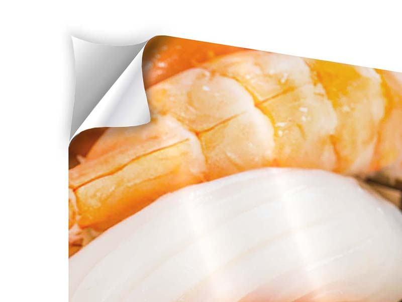 Klebeposter Sushi