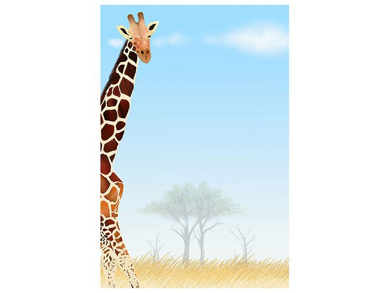 Klebeposter Giraffenfreund