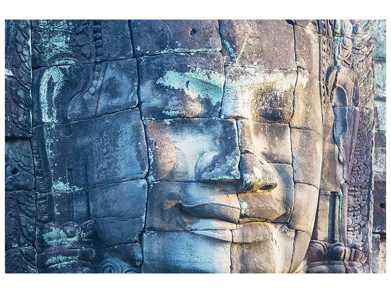 Klebeposter Buddha Statur