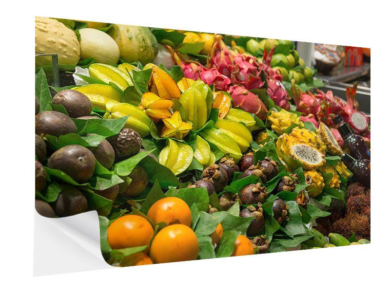 Klebeposter Früchte