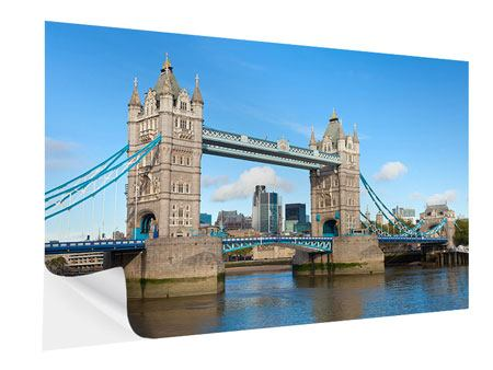 Klebeposter Die Tower Bridge