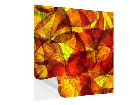 Klebeposter Abstraktes Gemälde