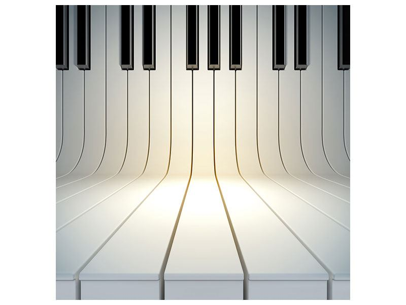 Klebeposter Klaviertasten