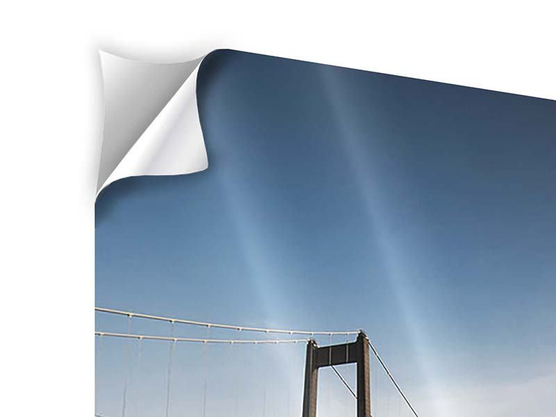 Klebeposter Moderne Brücke