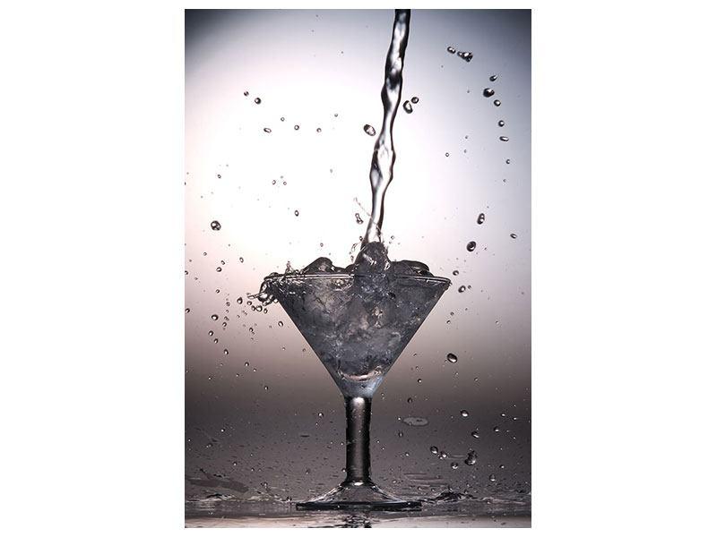 Klebeposter Spritziger Martini