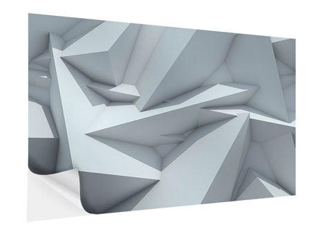 Klebeposter 3D-Kristallo