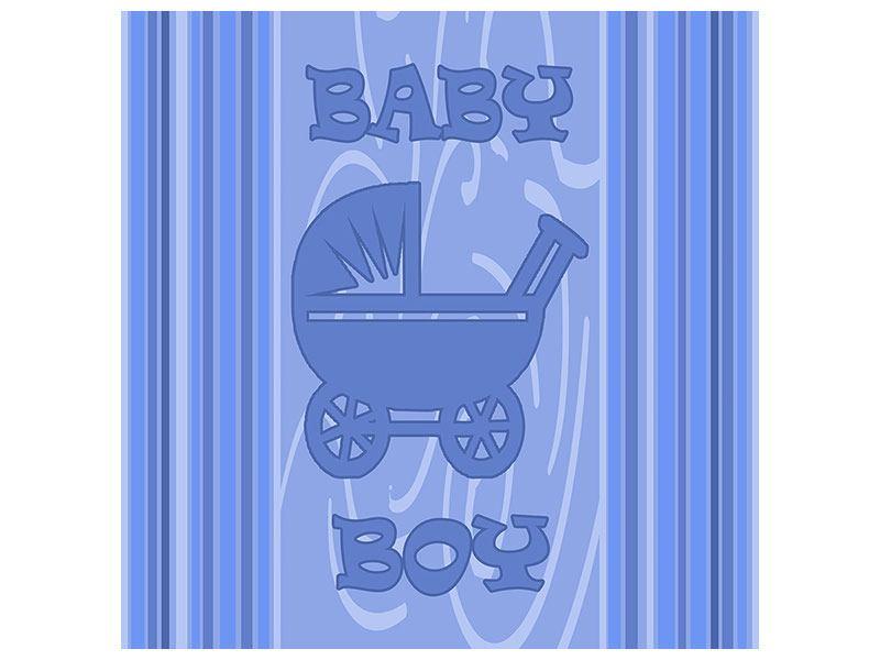 Klebeposter Baby-Boy