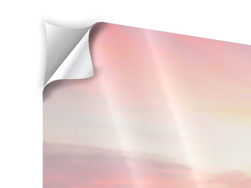 Klebeposter Der beruhigende Sonnenuntergang