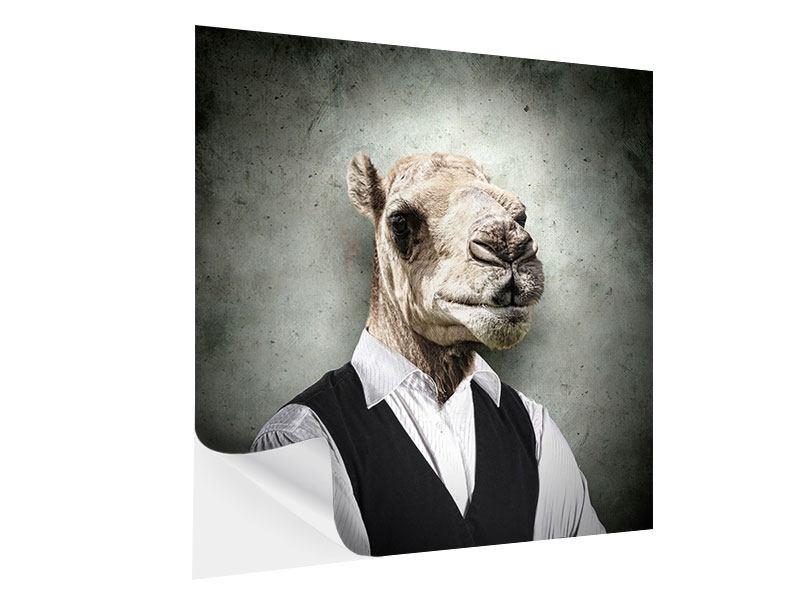 Klebeposter Das Portrait