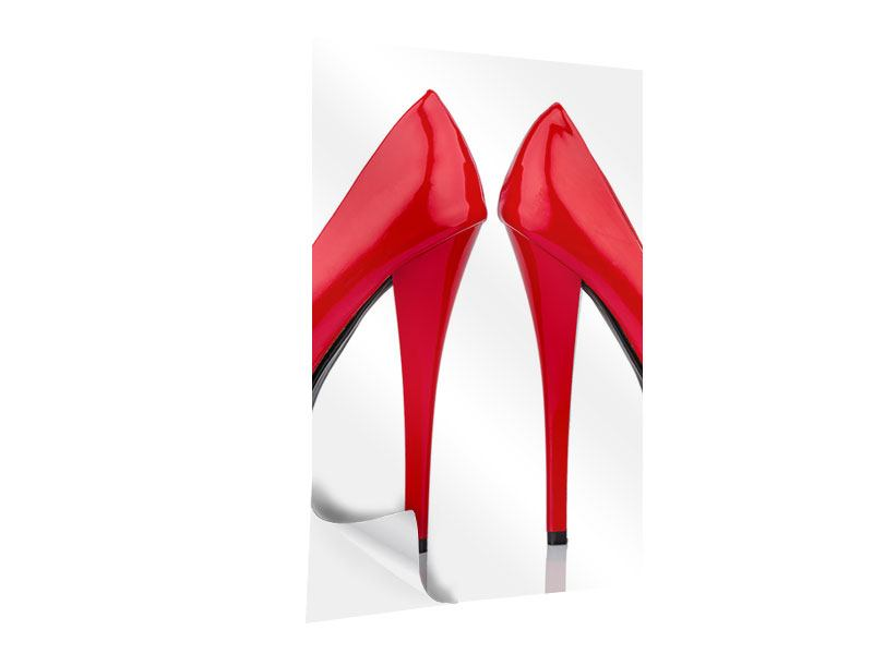 Klebeposter Close Up High Heels