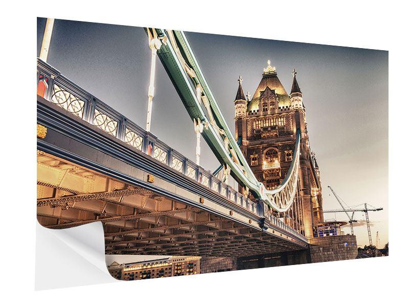 Klebeposter Tower Bridge XXL