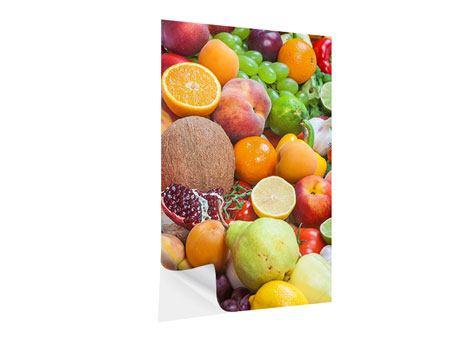 Klebeposter Frische Früchte