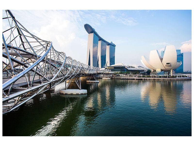 Klebeposter Singapur